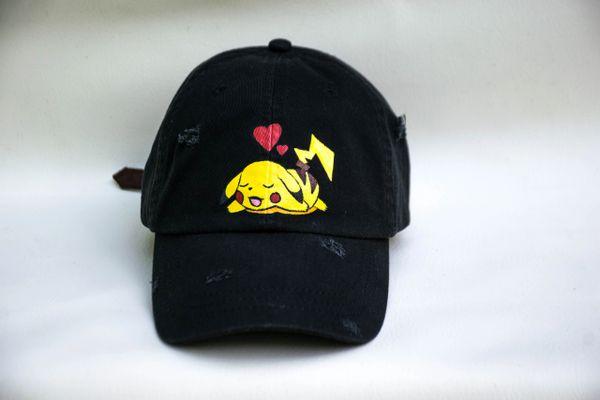 PIKACHU Design Black