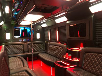 Denver Tech Center Party Bus