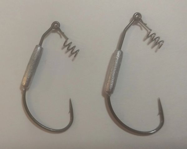 Swimbait Weighted Hook 1/4oz - 3/0 5ct