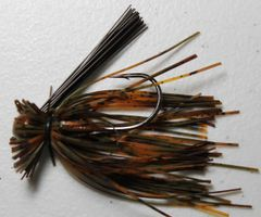 Finesse Jig - Orange Craw