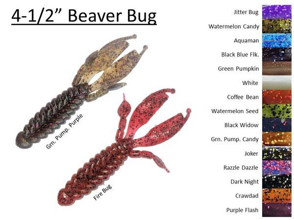 "4-1/2"" Beaver Bug - 8ct."