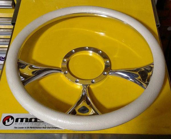 Billet Specialties Holeshot Steering Wheel