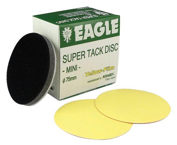 Eagle 730-0800 - 3 inch SUPER-TACK Mini Yellow-Film Discs