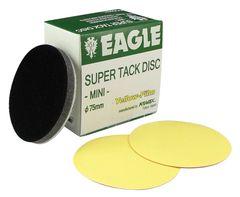 Eagle 730-1000 - 3 inch SUPER-TACK Mini Yellow-Film Discs