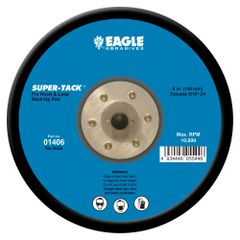 Eagle 01406 - 6 inch SUPER-TACK Back-Up Pad (Low Profile)