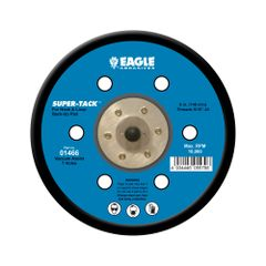 Eagle 01466 - 6 inch SUPER-TACK Back-Up Pad Dustless