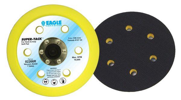 Eagle 02266R - 6 inch SUPER-TACK Soft Pad Dustless Riveted Back