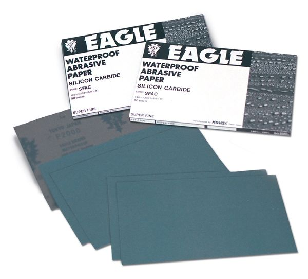 Eagle 131-0400 - Flexible-Back Waterproof 1/2 Sheets 5 1/2x9