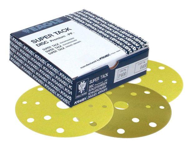 Eagle 568-0320 6 inch SUPER-TACK High Performance PF Premium Discs - 15 Holes