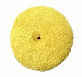 """CYCLO YELLOW WOOL BLEND 4"""" VELCRO CUTTING PADS, 2 PACK"""