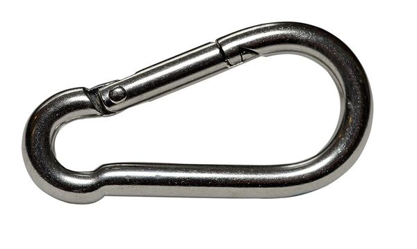 6mm 316 Marine Grade Stainless Steel Carbine Hook