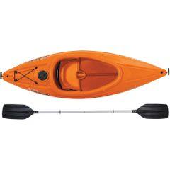 Sun Dolphin ® Aruba SS Sit-in Kayak Tangerine Free Paddle