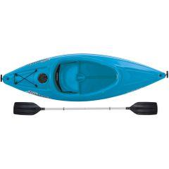 Sun Dolphin ® Aruba SS Sit-in Kayak Blue Free Paddle