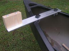 Universal Aluminium/Ash Canoe Motor Mount