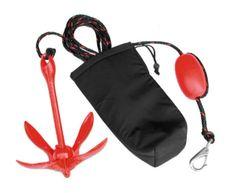H2o 1.5 Kg Folding Anchor Kit, Bag, Rope Clip