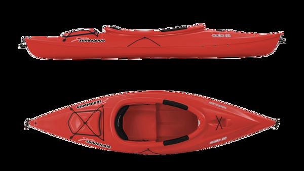 Sun Dolphin ® Red Aruba 10 Deluxe Kayak