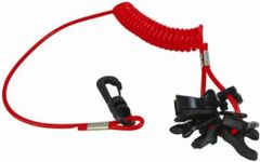 H2o Universal Out Board Boat Kill Switch Keys (7) With Lanyard