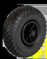 """Ruk Sport 10"""" (25.5cm) Canoe Trolley Wheel Puncture Proof"""