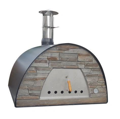 Maximus Prime Arena Wood-fired Pizza Oven Commercial/Large Family Red or Black
