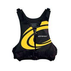 Typhoon Yalu 50n Buoyancy Jacket - Small/Medium Yellow Swirl Chest 86 - 106 cm Weight 40 - 70 Kg