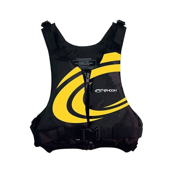 Typhoon Yalu 50n Buoyancy Jacket - Small/Medium Yellow Swirl Chest 86 - 106 cm Weight 40 - 70 Kg