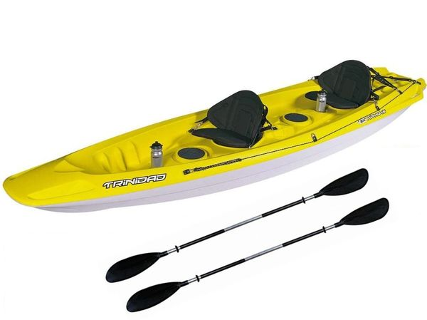 BIC Trinidad Family Kayak Package Includes Delivery 2 x Paddles and 2 x Back Rests