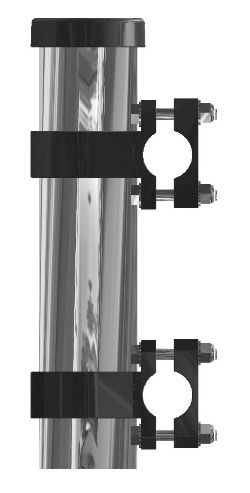 Side Mount Stainless Steel Rod Holder