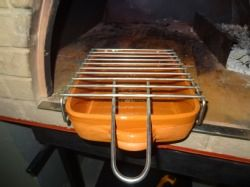 Wood-fired Pizza Oven Stainless Steel Grill