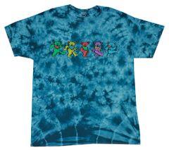 Grateful Dead Dancing Bear, Dyed T-Shirt