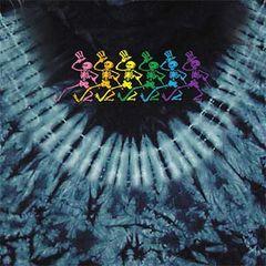 Grateful Dead Dancing Skeletons, Dyed T-Shirt