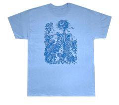 Grateful Dead Blue Bertha, Solid T-Shirt
