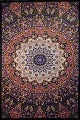 Glow in the Dark India Star Tapestry