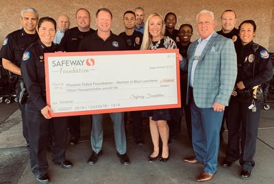 Corporate Sponsorship from Safeway - Phoenix Police Foundation