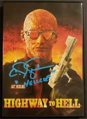 "C.J. Graham signed ""Hellcop"" Highway to Hell DVD"