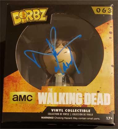 Norman Reedus signed Daryl Dixon DORBZ