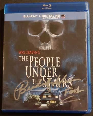 Brandon Adams signed People Under the Stairs DVD
