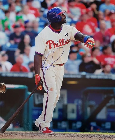 Ryan Howard autograph 16x20, Philadelphia Phillies
