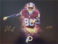 Jamison Crowder autograph 16x20 custom photo, Washington Redskins