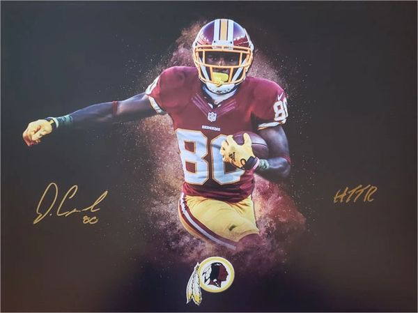 Jamison Crowder autograph 16x20 custom photo, Washington Redskins