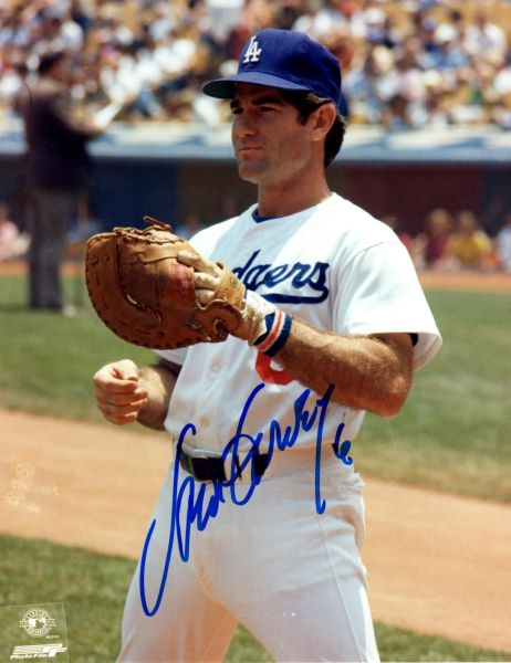Steve Garvey autograph 8x10, Los Angeles Dodgers