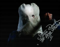 Steve Dash autograph 8x10, Friday the 13th part II