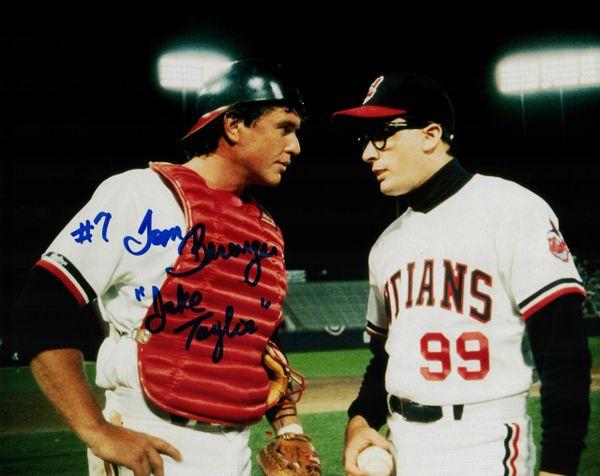 Tom Berenger autograph 8x10, Major League, Jake Taylor
