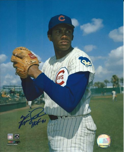 Ferguson Jenkins autograph 8x10, Chicago Cubs, HOF inscription