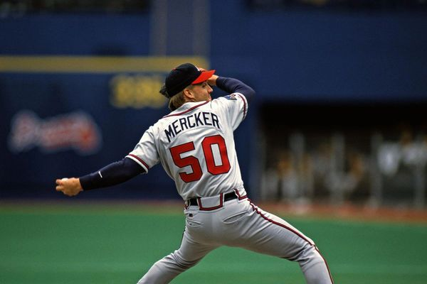 1 Kent Mercker autograph ticket for a trading card Deadline 30 Sep 2020, private signing