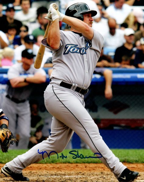 Matt Stairs autograph 8x10, Toronto Blue Jays