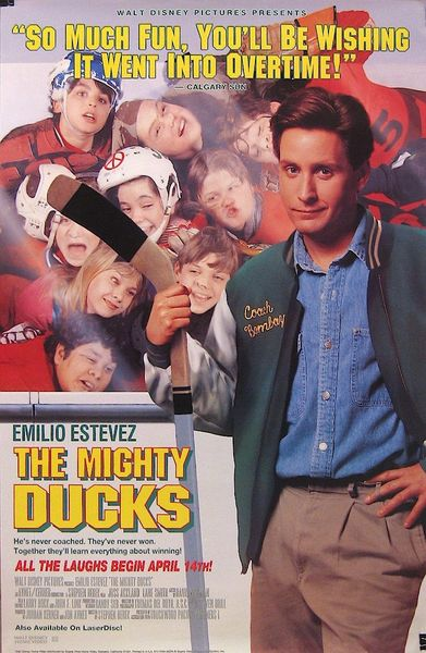 11x14 of Mighty Ducks that will be signed during the Emilio Estevez signing, deadline 29 March 2021