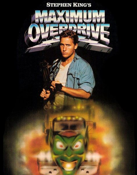 11x14 of Maximum Overdrive that will be signed during the Emilio Estevez signing, deadline 29 March 2021