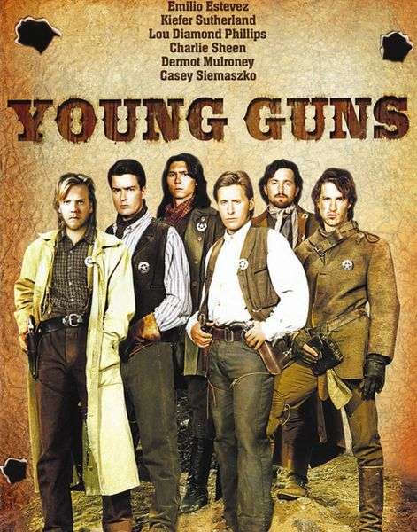 11x14 of Young Guns that will be signed during the Emilio Estevez signing, deadline 29 March 2021