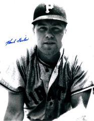 Hank Foiles autograph 8x10, Pittsburgh Pirates