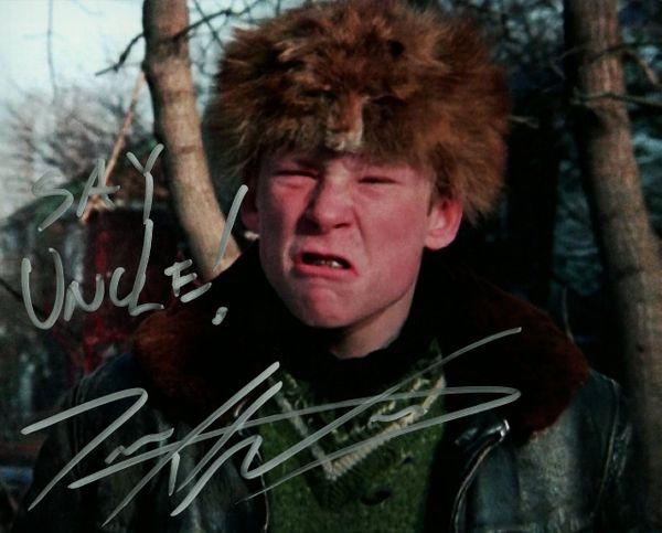 Zack Ward autograph 8x10, Christmas Story, cool inscription!